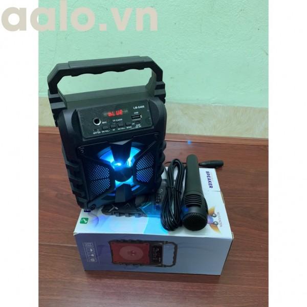 Loa Bluetooth Hát Karaoke LM - 408/409/410 Tặng Kèm Mic hát ( ảnh thật sản phẩm) - aalo.vn