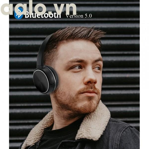 Tai nghe Chụp tai Bluetooth chính hãng K2 , có khe thẻ nhớ, có kèm mic đàm thoại (siêu hót 3 trong 1) - aalo.vn