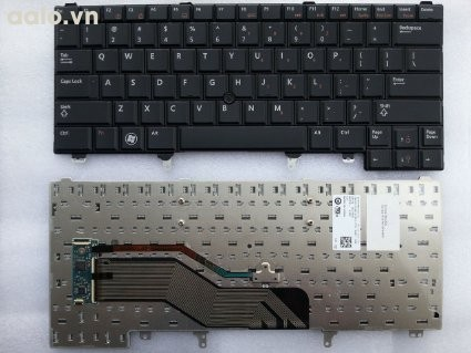 Bàn phím laptop Dell Latitude E6420,E6320, E5420, XT3 - Keyboad Dell