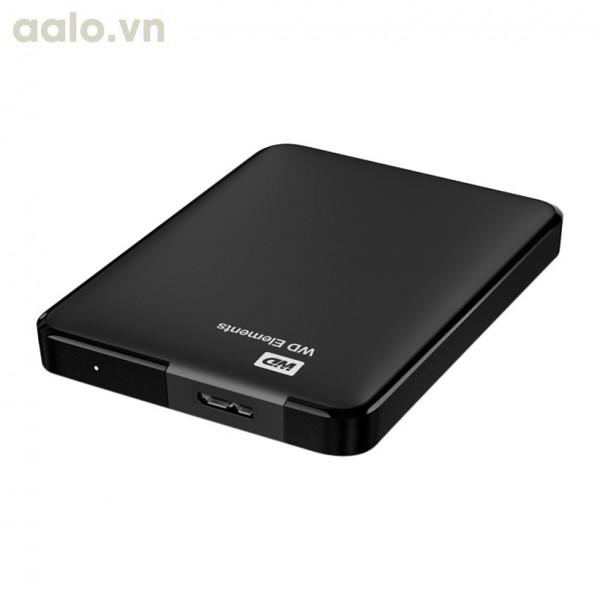 Ổ cứng di động WD Elements WDBUZG5000ABK 500GB Đen