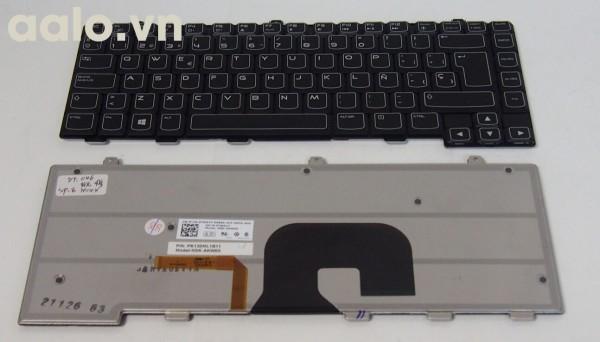 Bàn phím laptop Dell Alienware M14X Series SP Black Laptop Keyboard With Backlit R2- Keyboad Dell