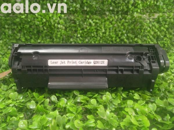 Hộp mực máy in Canon 2900,3000,HP 1010,1020,3020-Hộp mực 12A [Có lỗ đổ mực, thuận tiện, tiết kiệm]