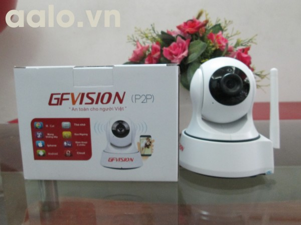Camera  không dây GFVISION IP P2P Wifi