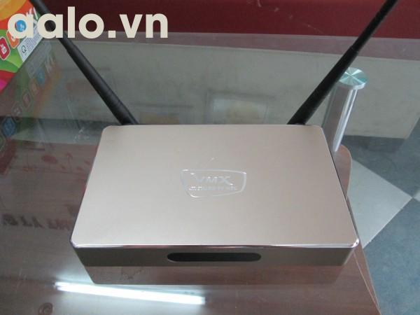 Android tivi box VMX - Smartbox biến tivi thường thành TV thông minh(Vàng)