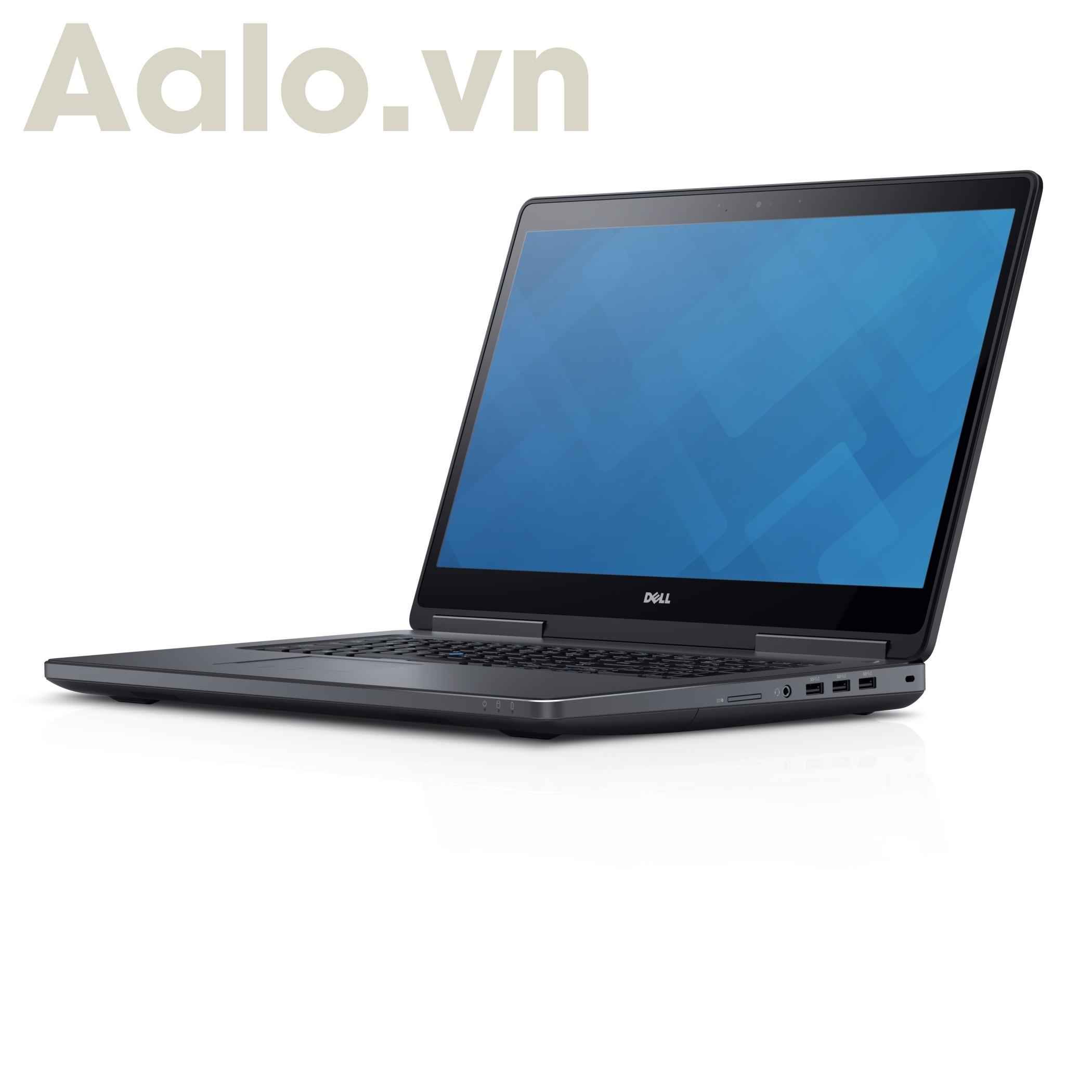 laptop cũ Dell Inspiron 7710 (Xeon e3-1505/ RAM 8GB/ SSD 256GB/ M3000M/ 17.3 inch FHD)