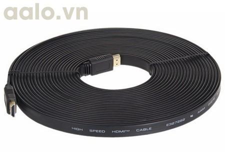 Cáp HDMI Dẹp 10m