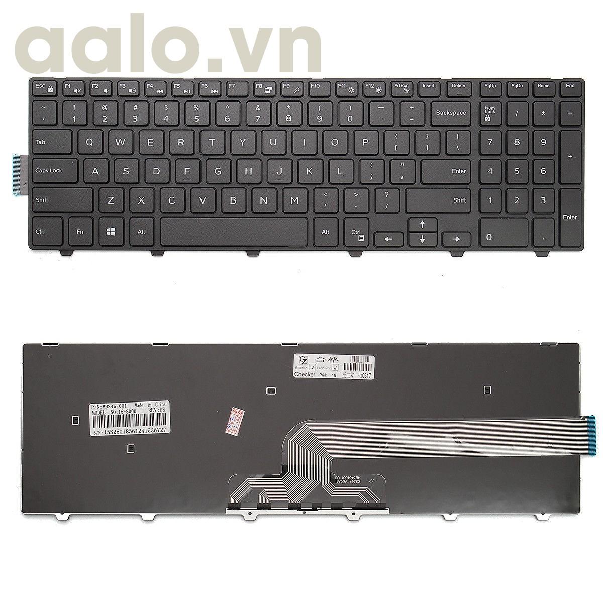 Bàn phím Laptop Dell Inspiron 15-3000