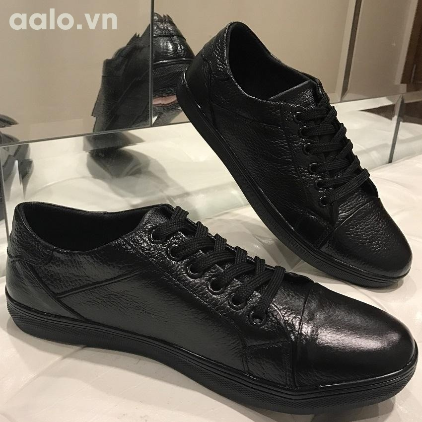 giày docter nam cao cấp - GD06 (đen)