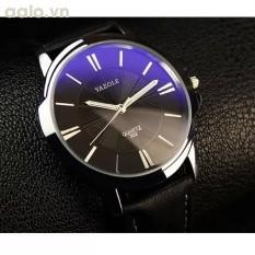 Đồng hồ nữ dây giả da kính chiếu 3D NK825