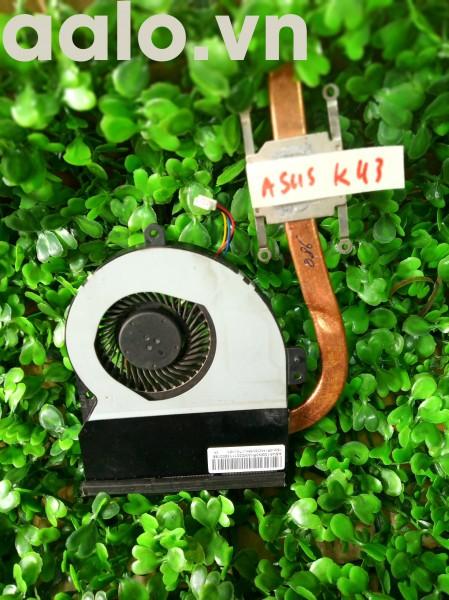 Quạt tản nhiệt laptop Asus K43E, K43S, K43V