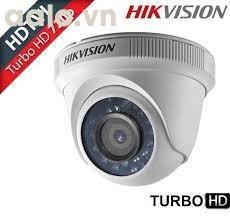 Camera / DS-2CE56C0T-IRP /  HD-TVI bán cầu hồng ngoại 20m 1 MP.