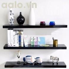 Kệ gỗ trang trí Tivi phòng khách bộ 3 thanh dài 60cm nhỏ gọn