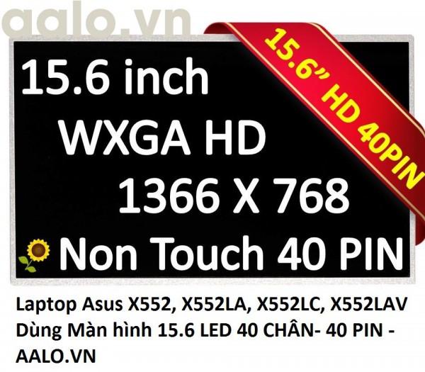 Màn hình laptop Asus X552, X552LA, X552LC, X552LAV