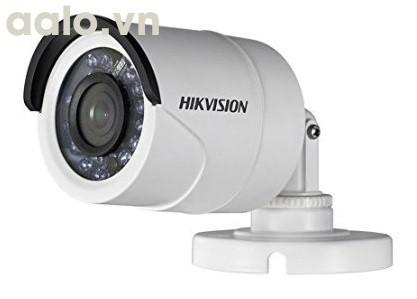 Camera / DS-2CE16D0T-IR / HD-TVI  hình trụ hồng ngoại 20m ngoài trời 2MP - lõi thép.
