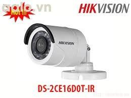 Camera / DS-2CE16C0T-IR / HD-TVI  hình trụ hồng ngoại 20m ngoài trời 1 MP.