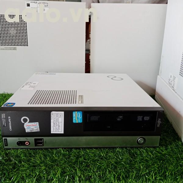 Máy tính đồng bộ Fujitsu Esprimo D582 Mainboard H77, CPU Intel i5 2400 ram DDR3 2G, ổ cứng 250G.(cũ)