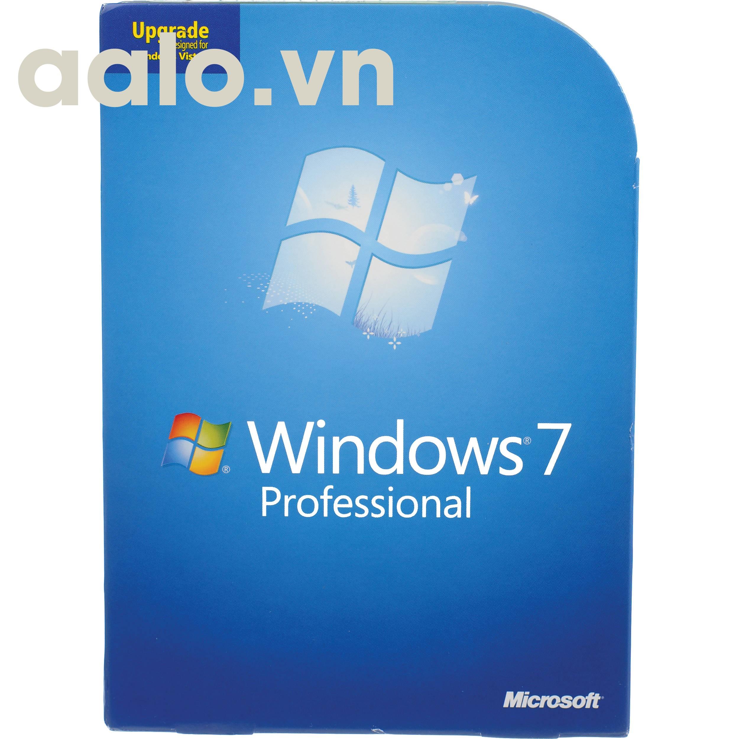 Key Windows 7 Professional English 32/64 Bit OEM 1 PC