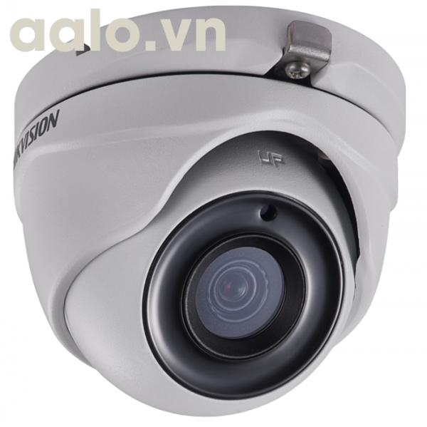 Camera /DS-2CE56F1T-ITP - Plastic / HD-TVI  hình bán cầu hồng ngoại 20m ngoài trời 3MP