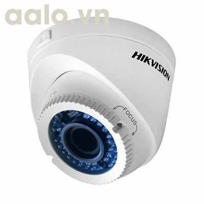Camera / DS-2CE56D0T-VFIR3E /  HD-TVI  bán cầu hồng ngoại 40m ngoài trời 2MP