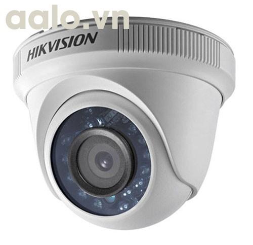 Camera / DS-2CE56F1T-IT3 / HD-TVI  hình bán cầu hồng ngoại 40m ngoài trời 3MP