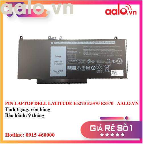 PIN LAPTOP DELL LATITUDE E5270 E5470 E5570 - AALO.VN