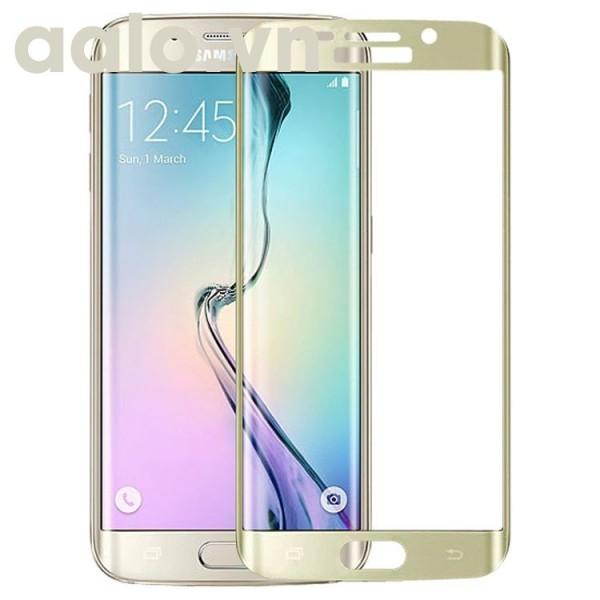 Miếng dán kính cường lực Samsung Galaxy S6 Edge Full màn hình