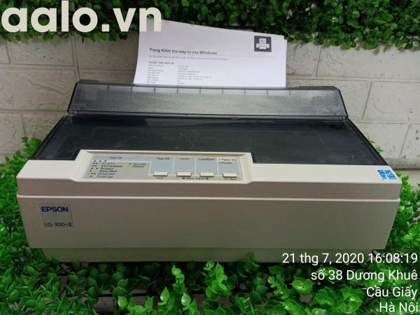 Máy in Kim Epson LQ300+II (24 kim, in khổ A4) Kèm băng mực , dây nguồn , dây USB mới - aalo.vn