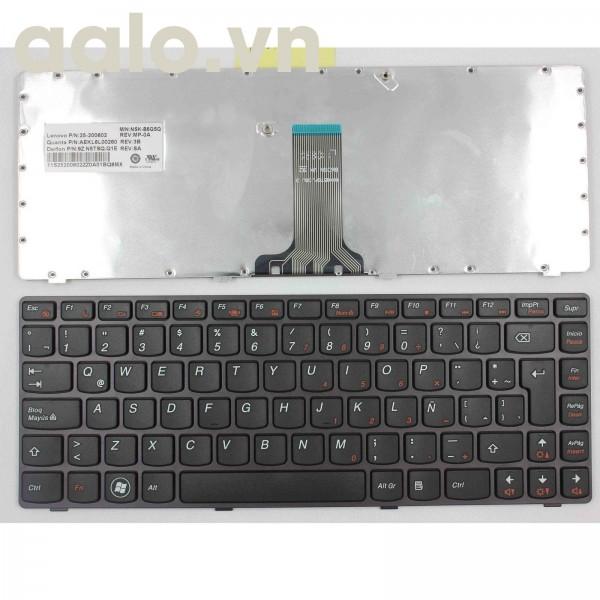Bàn phím laptop Cho Lenovo Z470AT