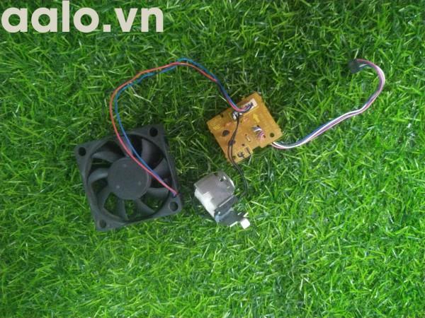 Quạt và vỉ điều khiển quạt  máy in canon 6200/ 6200d