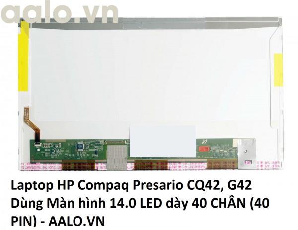 Màn hình laptop HP Compaq Presario CQ42, G42