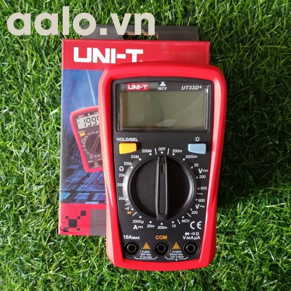Đồng hồ UT33D hoặc UT33d+ chuyên dụng cho thợ sửa mainboard đời cao