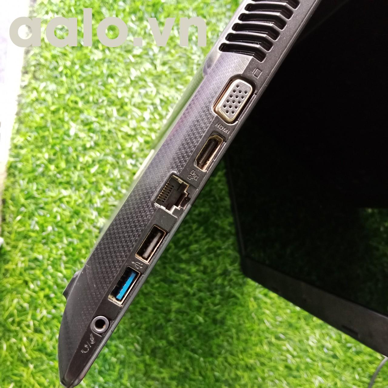 LAPTOP (cũ) Asus X45C-VX013 i3-3110M / Ram 2Gb /Ổ 500 / HD4000-màn 14 bảo hành 6 tháng