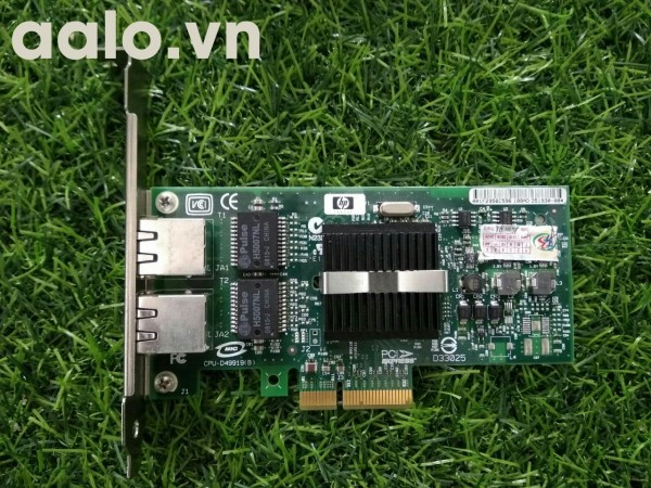 Card Lan server  HP H5007NL, 2 port 1Gbps, PCI-E 4x