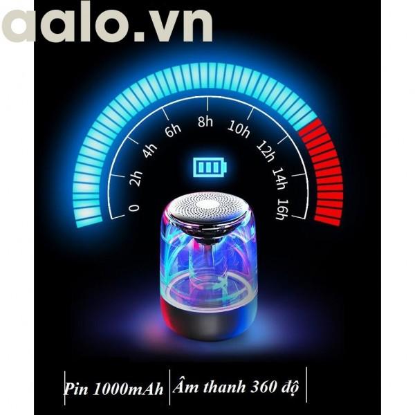 oa Bluetooth Trên Dưới Trong Suốt Yayusi C7 âm thành vòm 6D âm bass trầm led RGB pin 1000mAh - ADP6868-aalo.vn