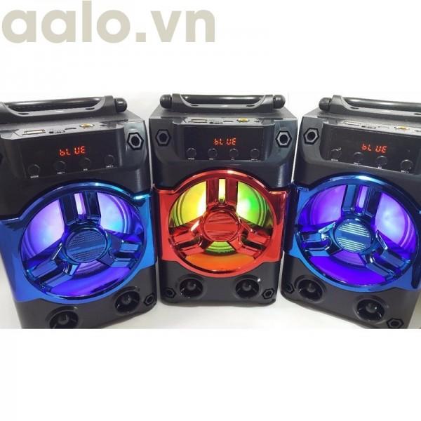 Loa Bluetooth Hát Karaoke KTS - 1037G Tặng Kèm Mic có dây-aalo.vn