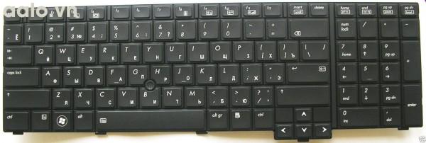 Bàn phím laptop HP 8740 8740P 8740W - keyboard HP