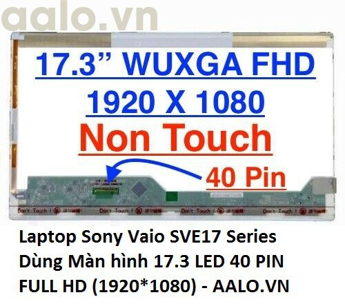 Màn hình Laptop Sony Vaio SVE17 Series