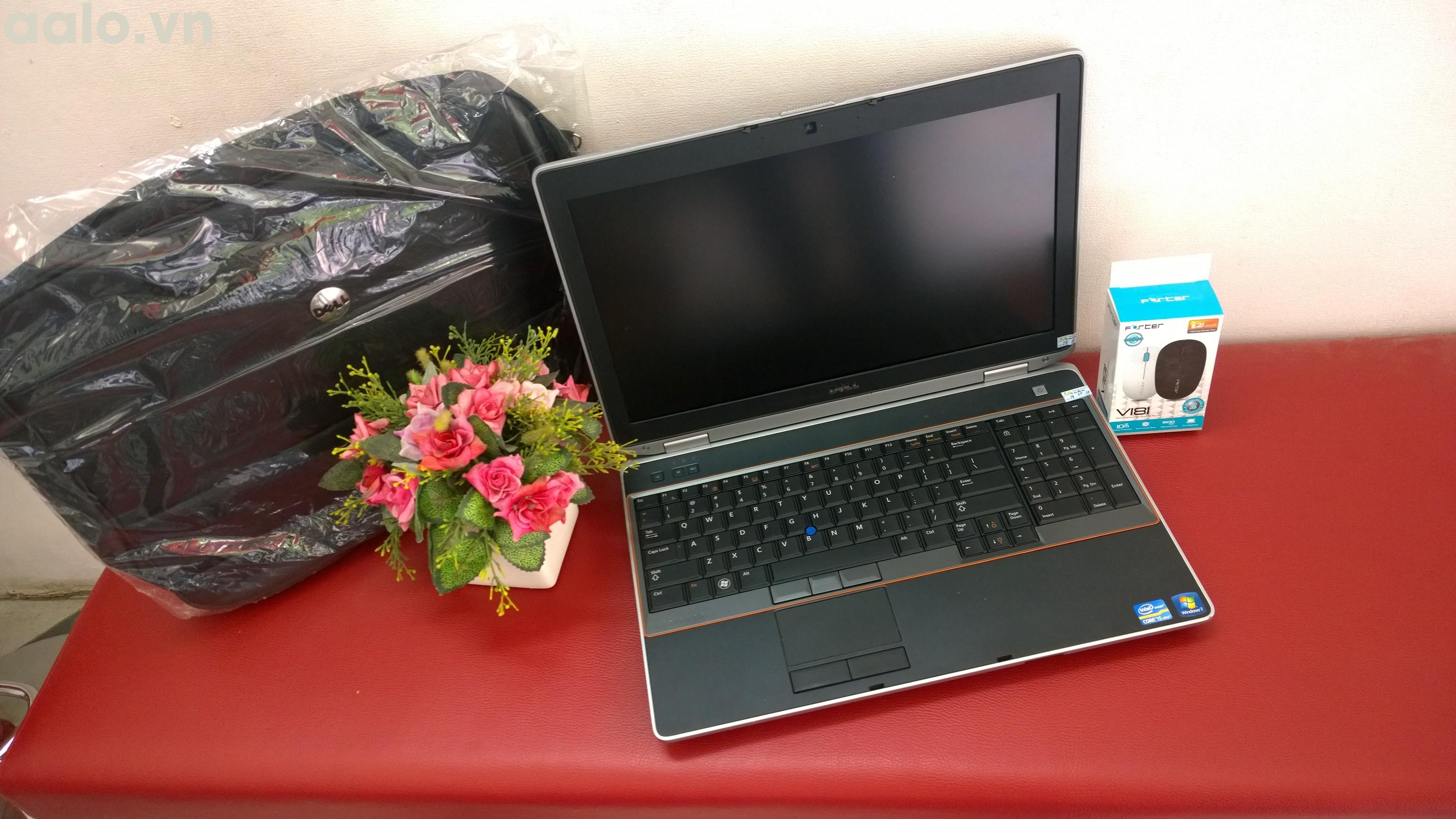 Laptop cũ Dell Latitude E6520 (Core i5 2520M, 4GB, 250GB, VGA Intel HD Graphics 3000, 15.6 inch) - bảo hành 1 năm