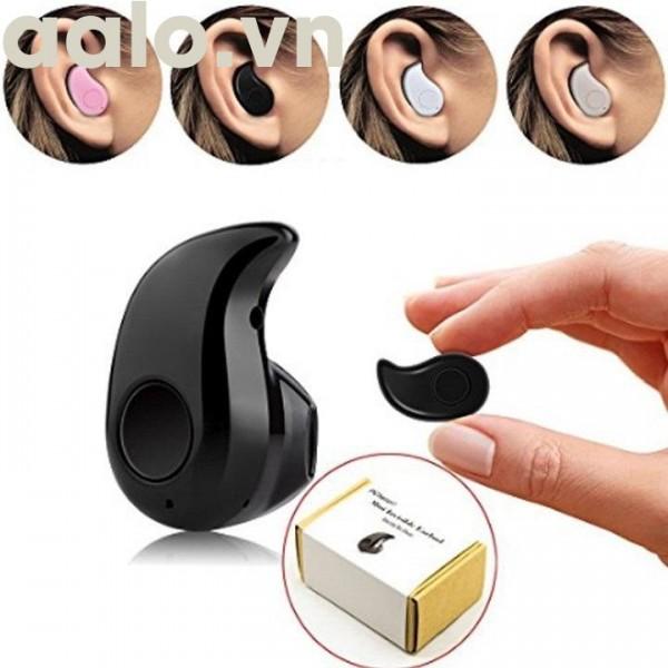 Tai nghe Bluetooth công nghệ V4.0  tai mini hạt đậu siêu xinh-aaalo.vn