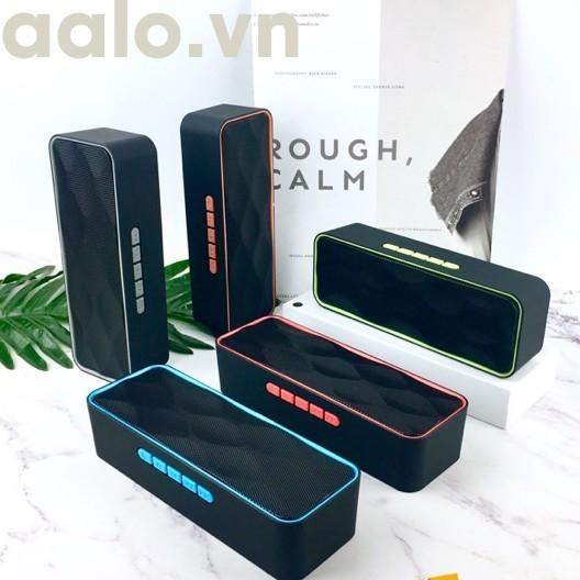 (GIÁ SẬP SÀN) Loa Bluetooth Di Động SC211 , Âm Thanh Sống Động, Bass Chuẩn, Cắm USB, Thẻ Nhớ, Cổng 3.5
