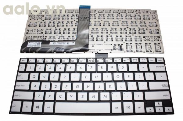 Bàn phím Laptop Asus VivoBook TP300 bạc - Keyboard Asus