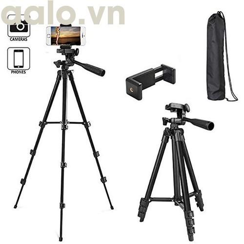 Tripod 3388 có Remote Chụp ảnh ( mẫu mới 2018 cao 140 cm) - aalo.vn