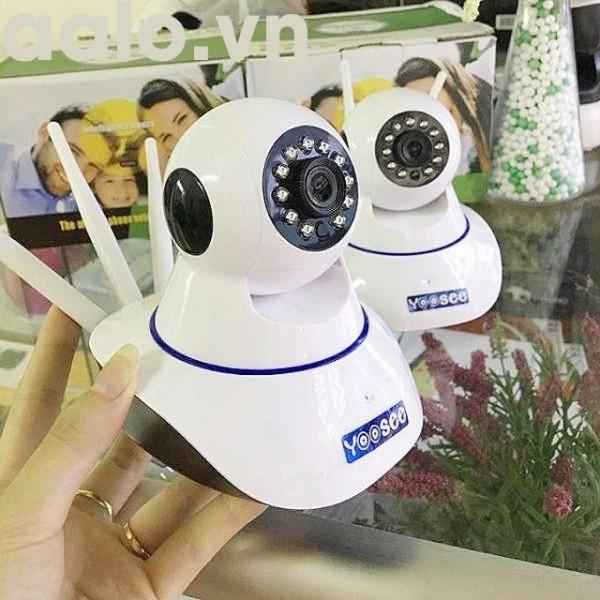 Camera 3 râu dùng phần mềm yoosee xoay 360 độ bắt wifi cực khỏe-aalo.vn