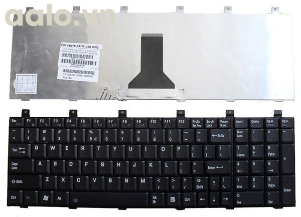 Bàn phím laptop TOSHIBA P100, P105, M65, L100 - Keyboard TOSHIBA