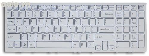 Bàn phím laptop Sony EL trắng - Keyboard Sony