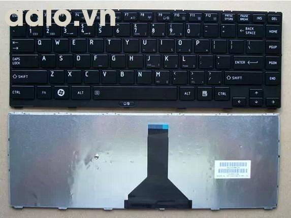 Bàn phím laptop TOSHIBA R800, R801, R830, R850, T01B, T03B. - Keyboard TOSHIBA
