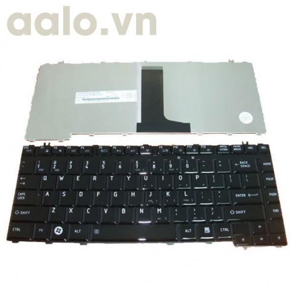 Bàn phím laptop TOSHIBA M200, A200, A300, M500, L200, L310 đen - Keyboard TOSHIBA