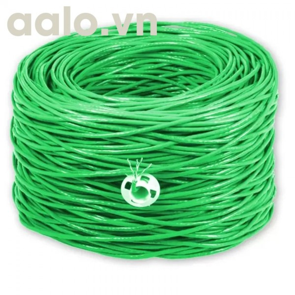 Dây mạng CAT6 HT-Cable 0989 CCA dây 8 Nhôm BOOTROM xanh ( chính hãng )