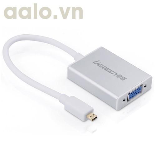 Dây micro HDMI ra VGA có Audio dài 20Cm