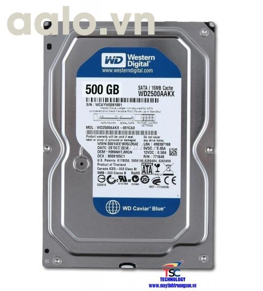Ổ cứng Western HDD 500Gb | dùng cho máy tính bàn